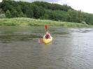 Kanutour an der Weser